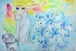 繪圖者:蔡佳儒  畫作名稱:和平